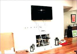 hide wires wall wire cover wiring covers hiding living room fabulous behind for mounted cord desk