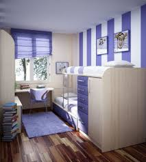 simple vertical blue stripes cool wall painting designs for small space