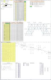 Lightning Protection System Design Calculation Excel Finite Element Method Calculation For Various Structure Truss Design Adjustable Programmed In Excel