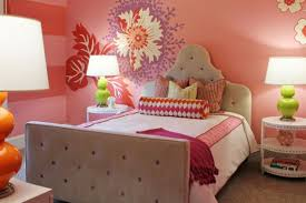 bedrooms for girls purple and pink. view in gallery flower mural perfectly blends pink, red, purple and green this compact girls\u0027 bedrooms for girls pink e