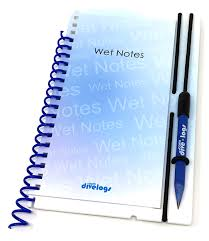 Page Binder Wet Notes Starter Binder And Refills 3mm Backing Slate