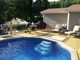 above ground pool with deck attached to house. Above Ground Pool With Deck Attached To House R