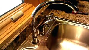 single handle kitchen faucet leaking at base valve repair replacement handles moen troubleshooting full size