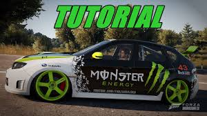 Forza Horizon Monster Energy Tutorial Youtube