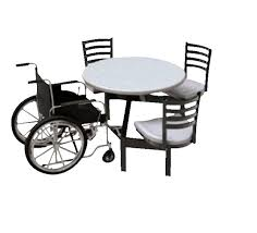 palmer hamilton round outdoor table with glides 3 seats 1 wheel chair various options