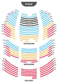 59e59 Theater Seating Chart Seating Chart Longacre Theatre New York New York