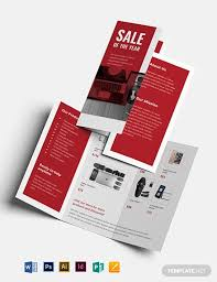 Electronic Brochure Template Electronic Sales Brochure Template Word Psd Indesign