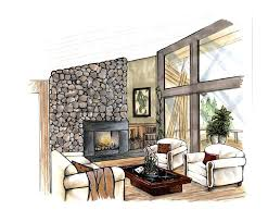 interior design drawings perspective. Perfect Design Interior Design Drawings Perspective Ozcnuyag Floor For A