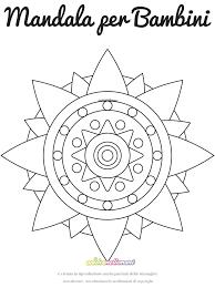 Disegno Mandala Rosa Dei Venti 1 Da Colorare E Da Stampare Con
