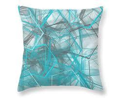 turquoise decorative pillows. Exellent Pillows Turquoise And Grey Throw Pillows Inside Decorative 1