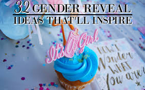 32 unique gender reveal