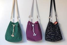 Free Bag Patterns Interesting The Fairly Bucket Bag Free Pattern Tutorial Sew Mama Sew