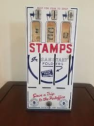 Vintage Stamp Vending Machine Beauteous SHIPMAN MFG CO Vintage Postage Stamp Vending Machine 4848