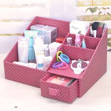 Diy Desk Organizer How To Diy Cardboard Desktop Organizer With Drawers Diy