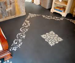 paint concrete floorsUsing Annie Sloan Chalk Paint on Floors  Driven by Decor