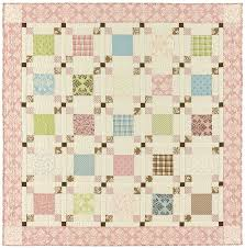 Park Lane - Bunny Hill Pieced Quilts - Patterns & Park Lane Pattern Back; Park Lane Quilt Adamdwight.com