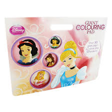 Disney Princess Giant Colouring Pad By Disney Cheap Colouring