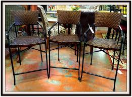 high dark wicker bar stool bar stools counter pier 1