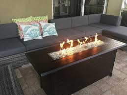 glass fire pit diy awesome awesome glass fire pit table outdoor