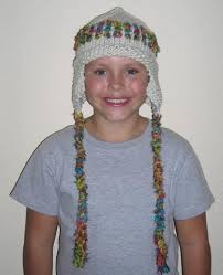 Child Knit Hat Pattern Amazing Free Braided Ear Flap Hat Knitting Pattern For Children