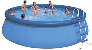 Intex Aufstellpool Easy Set Pools®, Blau, Ø 457 x 122 cm: Amazon.de: Garten