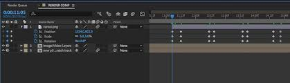 basic keyframing in adobe after effects