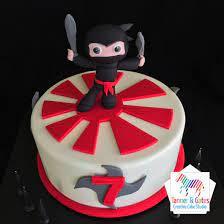 Ninja Birthday Cake - Sydney – Tanner & Gates