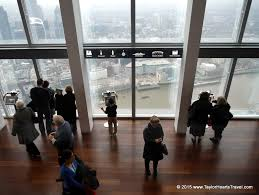 the view from the shard shard london toilet loo view