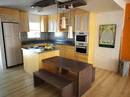 Yellow Pine Kitchen Cabinets Small Kitchen Ideas With Yellow High Gloss Finish Kitchen Cabinets