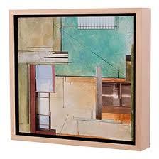 modern art framing. Rolled Up, Creased And Damaged Oil On Canvas Modern Art Framing