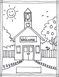 Small Picture Back to school coloring pages kindergarten ColoringStar