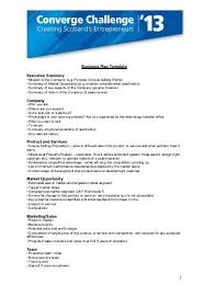executive business plan template business plan template 1 your title page 1 executive summary
