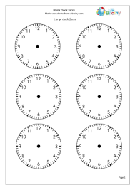 Clock faces Time Maths Worksheets For Year 2 (age 6-7)Clock Faces Maths Worksheet