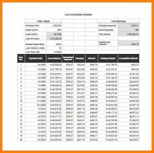 8+ Excel Loan Amortization Schedule Calculator | Inta Cf