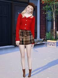 Emma at Vicky SweetBunny - The Sims 4 Catalog