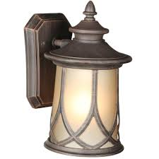 progress lighting resort collection 1 light 6 5 inch aged copper outdoor wall lantern p5987 122di the home depot