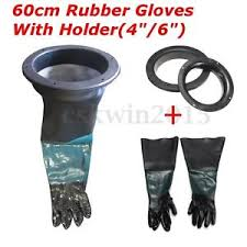 image is loading pair of sandblasting gloves 2pcs glove holder