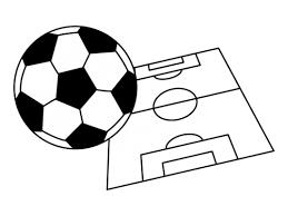 サッカーの白黒イラスト かわいい無料の白黒イラスト モノぽっと