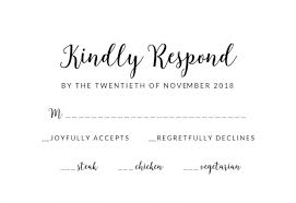 response cards template free download sample our wedding rsvp free printable response card