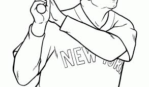 Small Picture Babe Ruth Coloring PagesKids Coloring Pages