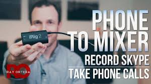 best way to connect a phone iphone android to a mixer a6500 sony mirrorless