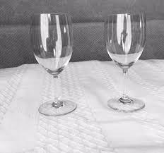 baccarat crystal haut brion white wine or port glasses
