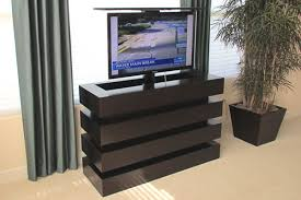 modern stock size tv lift cabinet