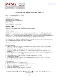 Cost Proposal Templates Sample Interior Design Proposal Formal Proposal Example Christmas 70