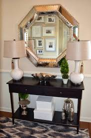 console table lamp mirror light oak shades foyer decor with entryway and large silver mirrored lamps uk led lights drawers decorated small urns books