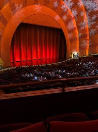 Radio City Music Hall Section 1st Mezzanine 7 Row Bb Seat