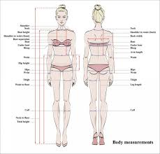From wikimedia commons, the free media repository. Woman Body Measurement Chart Scheme For Measurement Human Body For Sewing Clothes Female Figure Front And Back Views Model In Underwear Vector Stock Images Page Everypixel