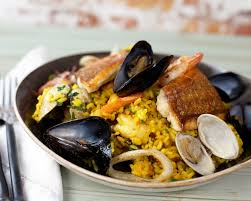 seafood paella | Spanish recipes