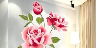 rose wall decor pink rose wall stickers decorative pink rose flower wall rose gold swan wall decor beautiful wall decor roses