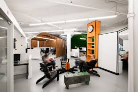 creative office space. a pr agency with super creative office space